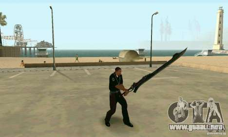 Espada de Nero en Devil May Cry 4 para GTA San Andreas