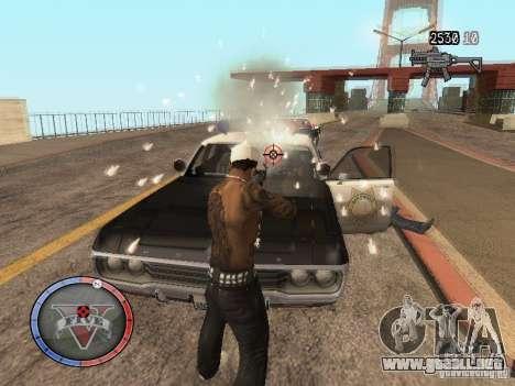 GTA 5 HUD para GTA San Andreas sucesivamente de pantalla