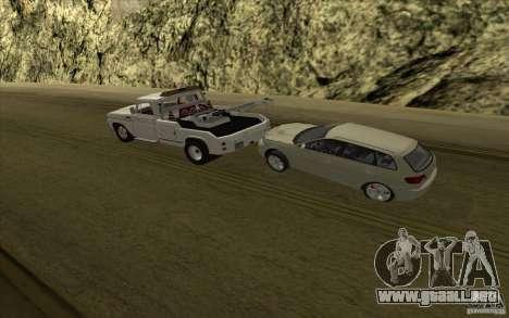 Camión de remolque Chevrolet para visión interna GTA San Andreas