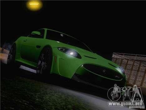 Jaguar XKR-S 2011 V2.0 para GTA San Andreas