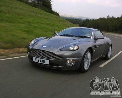 Aston Martin V12 Vanquish 6.0 i V12 48V v2.0 para GTA Vice City visión correcta