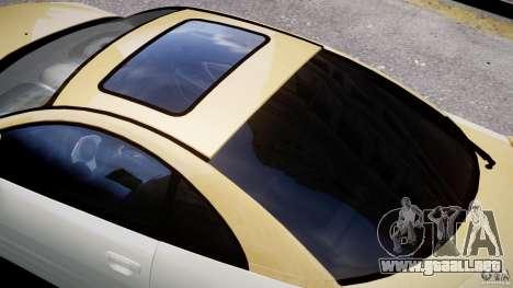 Mitsubishi Eclipse GTS Coupe para GTA 4 ruedas