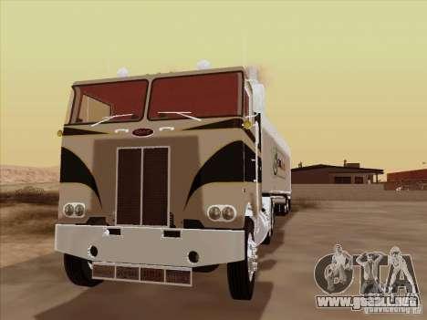 Peterbilt 352 para GTA San Andreas left