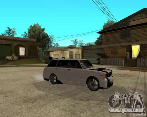 VAZ 2104 duro ajuste para la visión correcta GTA San Andreas