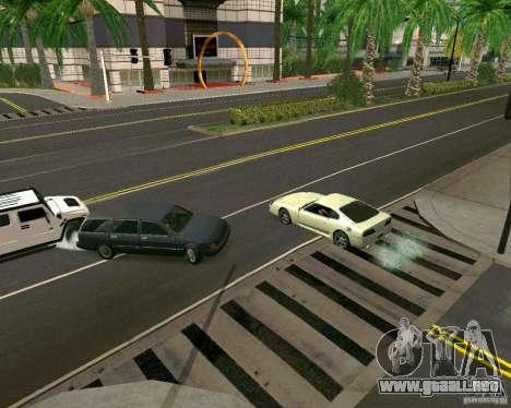 GTA 4 Road Las Venturas para GTA San Andreas quinta pantalla