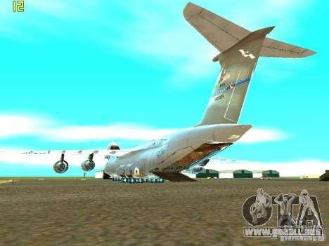 Lockheed C-5M Galaxy para GTA San Andreas left