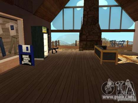 Casa de campo para GTA San Andreas tercera pantalla