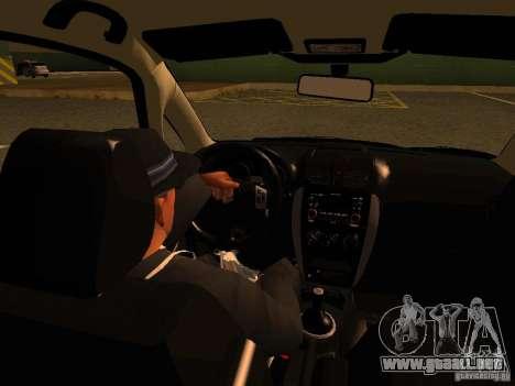 Suzuki SX-4 Hungary Police para la vista superior GTA San Andreas