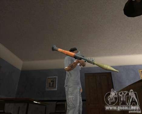 Jarra Mono Arsenal v1.2 para GTA San Andreas séptima pantalla