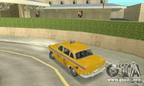 Checker Marathon 1977 Taxi para GTA San Andreas left