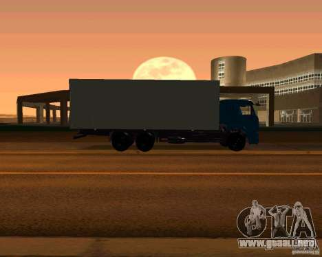 KAMAZ 65117 para visión interna GTA San Andreas