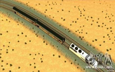 Desenganche de vagones para GTA San Andreas tercera pantalla