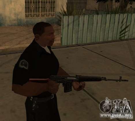 Pak armas nacionales actualizadas para GTA San Andreas