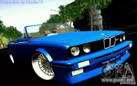 BMW E30 M3 Cabrio para GTA San Andreas