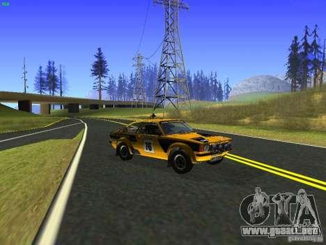 Opel Kadett para la visión correcta GTA San Andreas