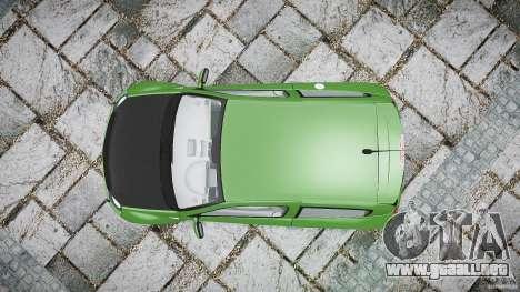Renault Clio V6 para GTA 4 visión correcta