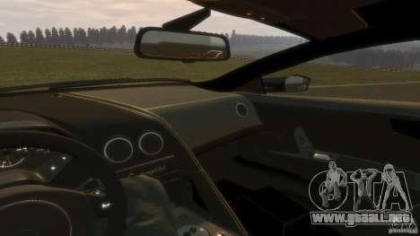 Lamborghini Murcielago VS LP 670 FINAL para GTA 4 vista hacia atrás