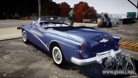 Buick Skylark Convertible 1953 v1.0 para GTA 4 visión correcta