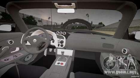 Honda S2000 Tuning 2002 Skin 1 para GTA 4 vista hacia atrás