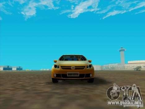 Volkswagen Voyage Comfortline 1.6 2009 para GTA San Andreas left