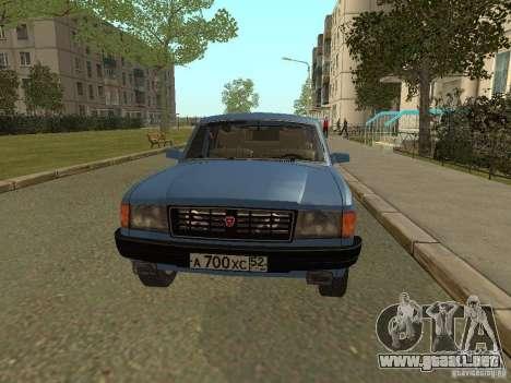 Volga GAZ 31022 para GTA San Andreas left