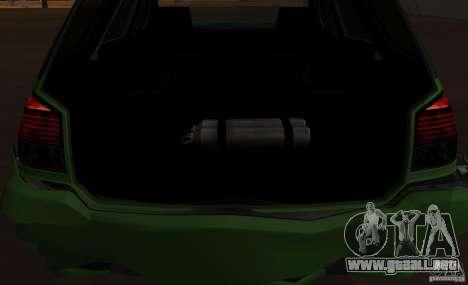 Serrano de GTA EFLC para GTA San Andreas vista posterior izquierda
