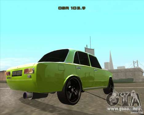 VAZ 2101 versión tuning de coches para GTA San Andreas left