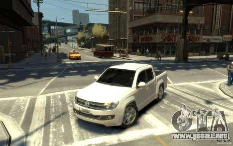 Volkswagen Amarok TDI 2011 para GTA 4 left