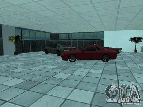 Más coches en el salón del automóvil de Doughert para GTA San Andreas sucesivamente de pantalla