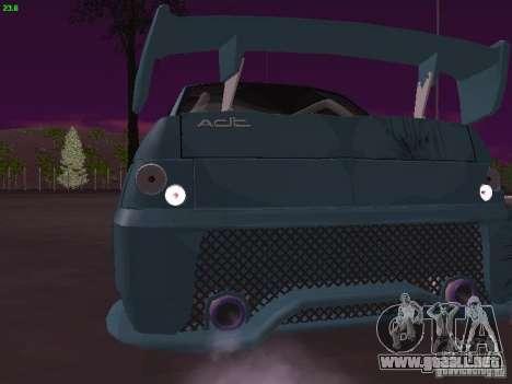 VAZ 2110 ADT Tuning para la visión correcta GTA San Andreas
