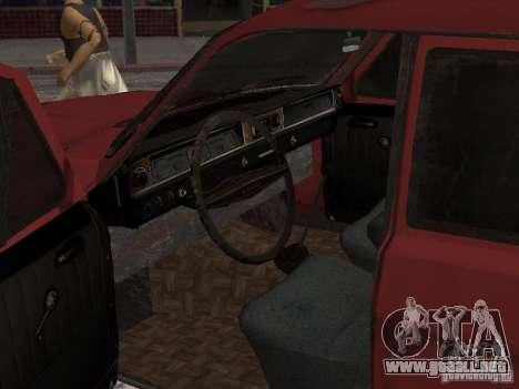 Volga Gaz M24-Rusty muerte para la visión correcta GTA San Andreas