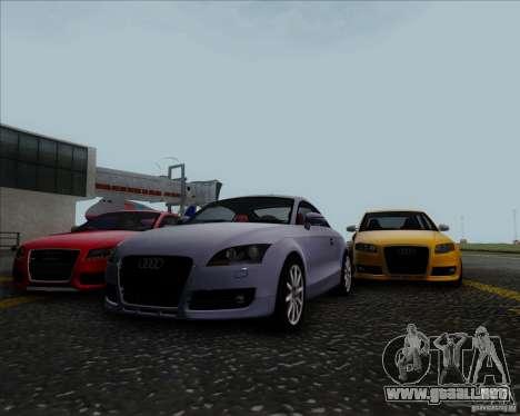 Audi TT para visión interna GTA San Andreas