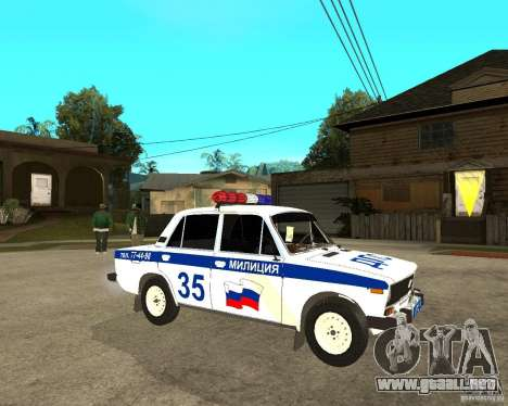 VAZ 2106 DPS para GTA San Andreas
