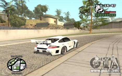 Porsche 911 Turbo S Tuned para GTA San Andreas left