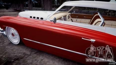 Buick Custom Copperhead 1950 para GTA 4 vista lateral