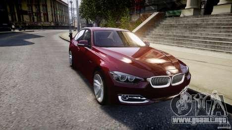 BMW 335i 2013 v1.0 para GTA 4 vista lateral