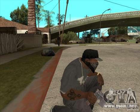 Resident Evil 4 weapon pack para GTA San Andreas sexta pantalla