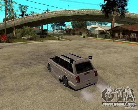 VAZ 2104 duro ajuste para GTA San Andreas left