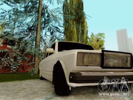VAZ 2107 para el motor de GTA San Andreas