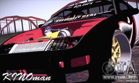 Nissan 300ZX Z32 para visión interna GTA San Andreas