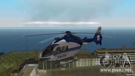 Eurocopter Ec-135 Politia Romana para GTA Vice City left