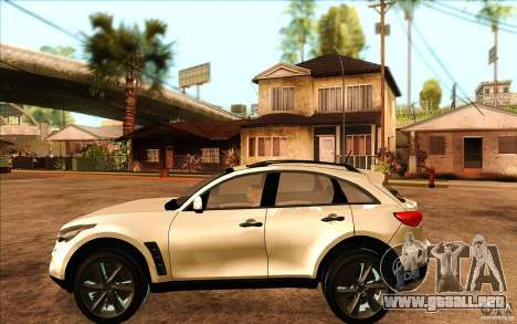 Infiniti FX50 Beta para GTA San Andreas left