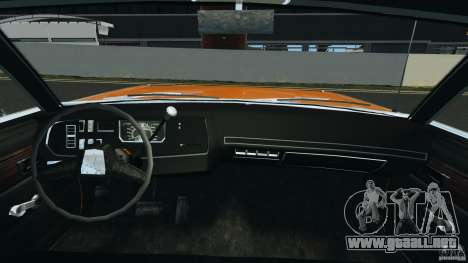 Dodge Dart GTS 1969 para GTA 4 vista hacia atrás