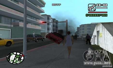 Arreglar el Auto para GTA San Andreas sucesivamente de pantalla