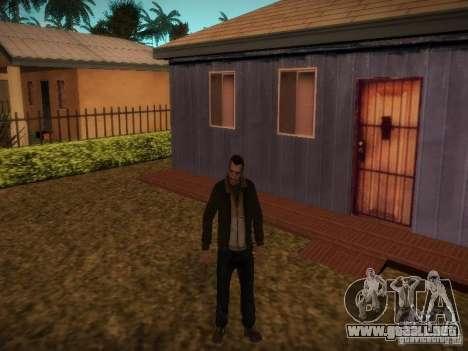 Niko Bellis nuevas historias para GTA San Andreas sucesivamente de pantalla