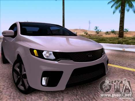 Kia Forte Koup SX para la visión correcta GTA San Andreas