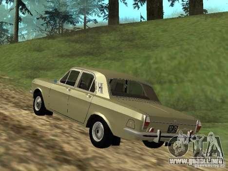 GAZ 24-01 para la visión correcta GTA San Andreas