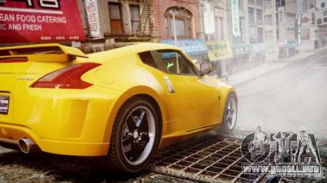 Nissan 370Z Final para GTA 4 left