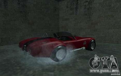 Shelby Cobra 427 para GTA San Andreas left