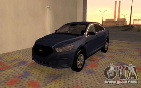 Ford Taurus Interceptor Unmarked 2013 para GTA San Andreas